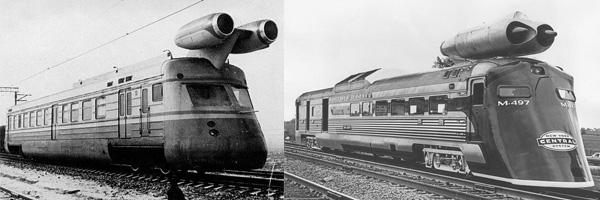Реактивные поезда: советский скоростной вагон-лаборатория и американский Black Beetle